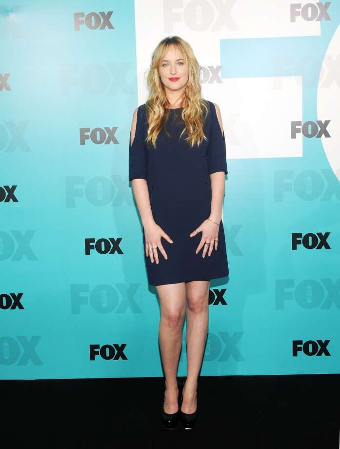 Actress Dakota Johnson attends the Fox 2012 Programming Presentation Post-Show Party at Wollman Rink - Central Park on May 14, 2012 in New York City.  (Photo by Desiree Navarro/WireImage) Photo: Desiree Navarro, WireImage