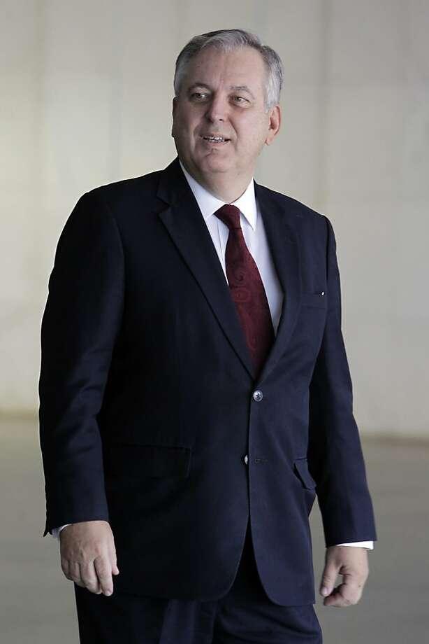Brazilian Foreign Minister Luiz Alberto Figueiredo Machado raises concerns over U.S. surveillance. Photo: Eraldo Peres, Associated Press