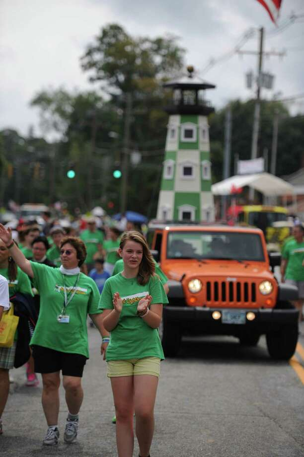 """Photos from the 52nd Annual Newtown Labor Day Parade in Newtown, Conn. on Monday, Sept. 2, 2013.  About 100 floats and groups participated in the parade, themed """"We are Newtown - marching strong."""" Photo: Tyler Sizemore / The News-Times"""