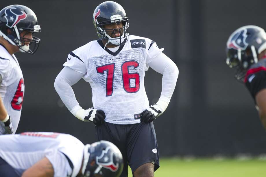 O-linePlayers to know: T Duane Brown, G Wade Smith, C Chris Myers, T Derek Newton, T Ryan Harris, G Brandon Brooks, G/C Ben Jones, G/T David Quessenberry, C/G Cody White, T Brennan Williams.