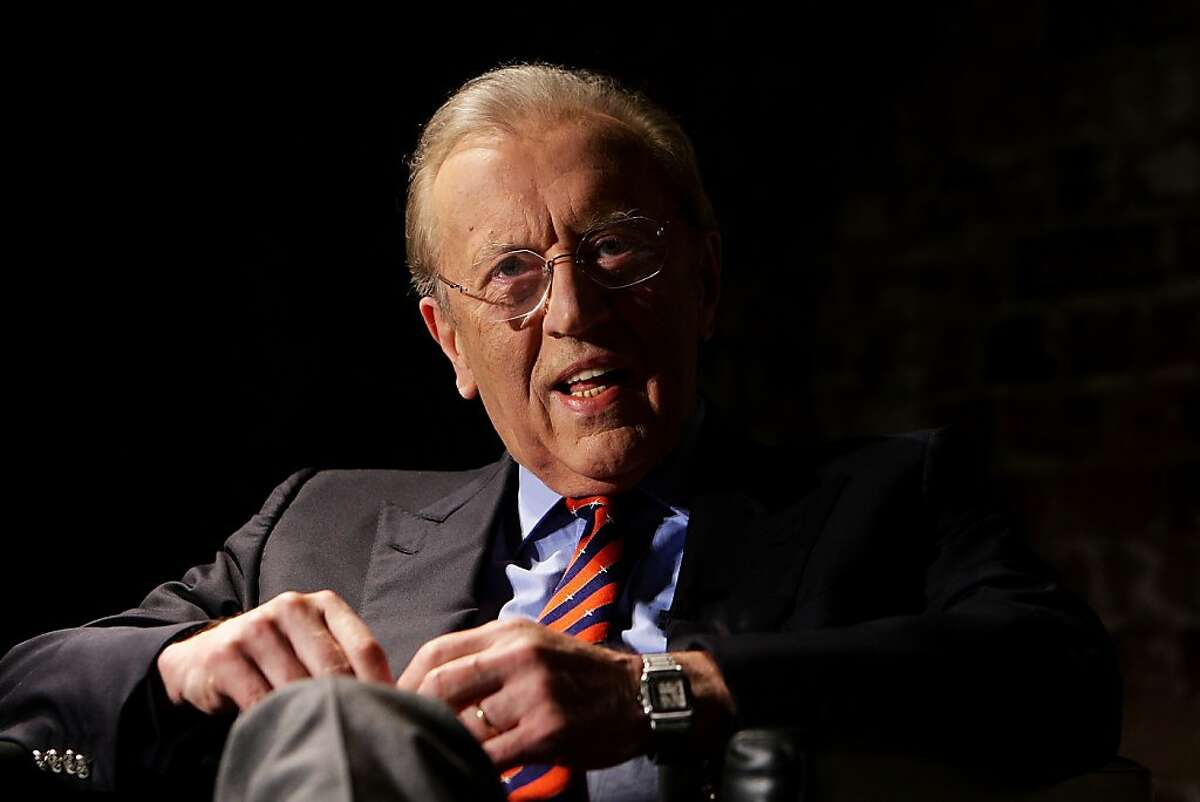 FILE - September 1, 2013: Renowned British broadcaster Sir David Frost died on Saturday night aged 74, after a suspected heart attack aboard the Queen Elizabeth cruise ship where he had been giving a speech. SYDNEY, AUSTRALIA - FEBRUARY 01: Sir David Frost attends a media conference at the Sydney Theatre Company on February 1, 2011 in Sydney, Australia. The legendary journalists will interview each other at two performances at the Sydney Theatre next week. (Photo by Lisa Maree Williams/Getty Images)
