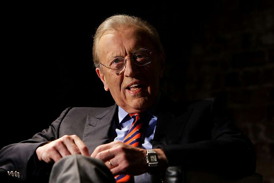David Frost, shown in Sydney in 2011, stood out with his incisive interviews. Photo: Lisa Maree Williams, Getty Images