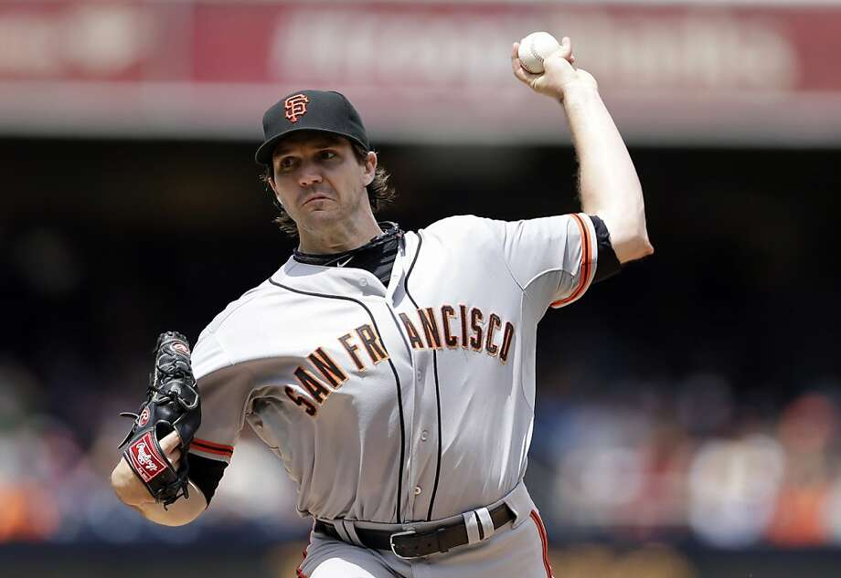 Without a win since May 30, starter Barry Zito confessed that this has been his most difficult season in a Giants uniform. Photo: Gregory Bull, Associated Press