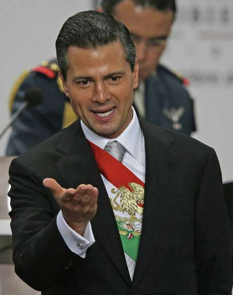 "President Enrique Peña Nieto says, ""Mexico has a great opportunity to make fundamental, structural changes to take advantage of its riches and potential."" Photo: Dario Lopez-Mills / Associated Press"