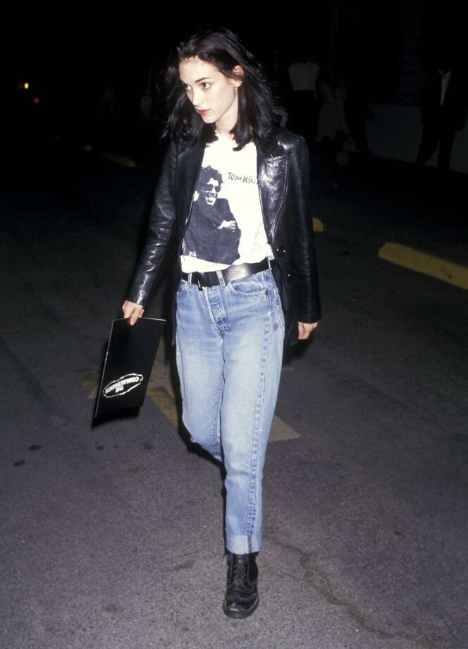 """Winona Ryder was queen of '90s It-Girls with hits like """"Reality Bites,"""" """"Edward Scissorhands"""" and """"Little Women"""" and set trends onscreen and off. Photo: Ron Galella,  Ltd., WireImage"""