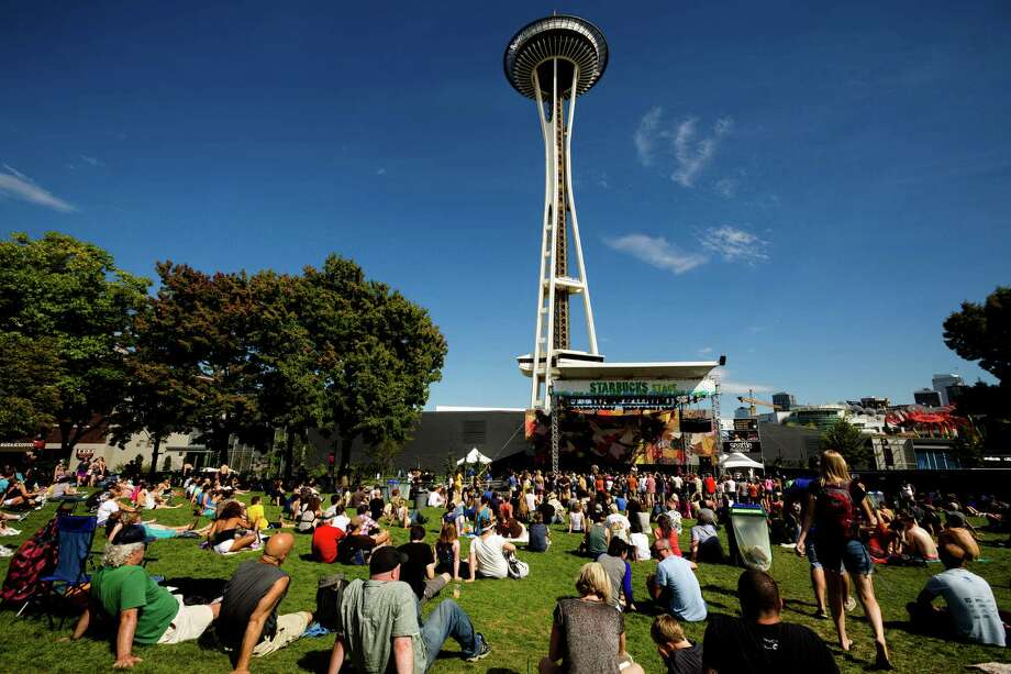 Onlookers enjoy a performance by Lissie on the third and final day of the annual Bumbershoot arts and music festival Monday, September 2, 2013, at Seattle Center in Seattle. Photo: JORDAN STEAD, SEATTLEPI.COM / SEATTLEPI.COM