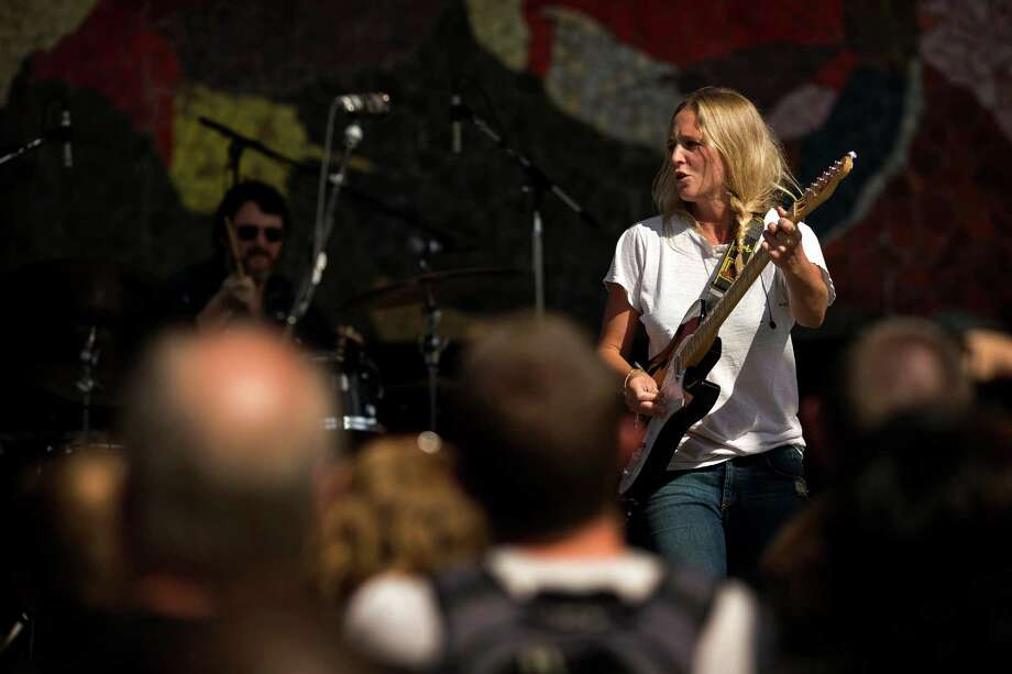 Lissie performs on the third and final day of the annual Bumbershoot arts and music festival Monday, September 2, 2013, at Seattle Center in Seattle. Photo: JORDAN STEAD, SEATTLEPI.COM / SEATTLEPI.COM