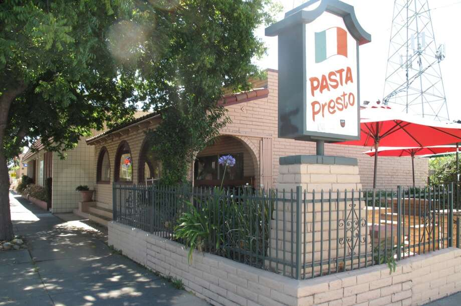 Pasta Presto in Fremont -- one of several old Taco Bells that now has white tablecloths. The new Taco Bell was built across the street. Thanks to John L. Bernstein and Pat English for the tip. Photo: Peter Hartlaub, The Chronicle