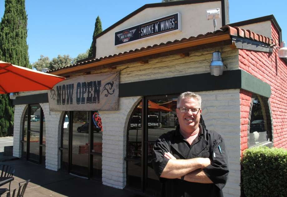 The newest Taco Bell makeover is Smoke N' Wings in the Willow Glen neighborhood of San Jose. It used to be a Thaibodia. I had a great chat with co-owner Mark Brown, who is big on the barbecue circuit. Photo: Peter Hartlaub, The Chronicle