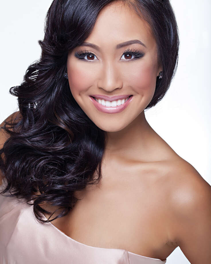 Miss California:Crystal Lee, 22Hometown:San FranciscoEducation: