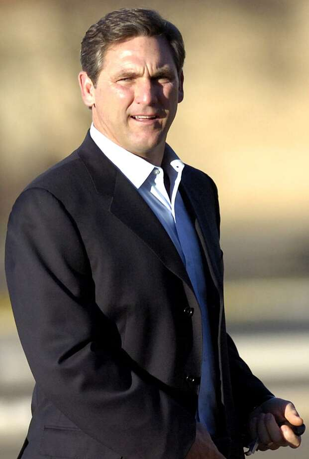 In this March 13, 2011, file photo, college football analyst Craig James is seen in Lubbock, Texas. James has been granted time away from ESPN while he considers running for the U.S. Senate in Texas, ESPN said Friday, Dec. 16, 2011. James would be running for the 2012 Senate seat being vacated by retiring Republican Kay Bailey Hutchison.  (AP Photo/Geoffrey McAllister, File) Photo: Geoffrey McAllister, Associated Press