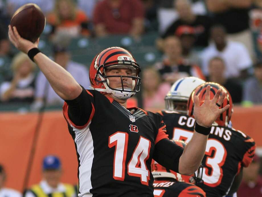 17. Bengals (0-1)Last week: 8  Maybe the Bengals spent too much time on Hard Knocks to prepare properly for the first game at Soldier Field. Photo: Tom Uhlman, Associated Press