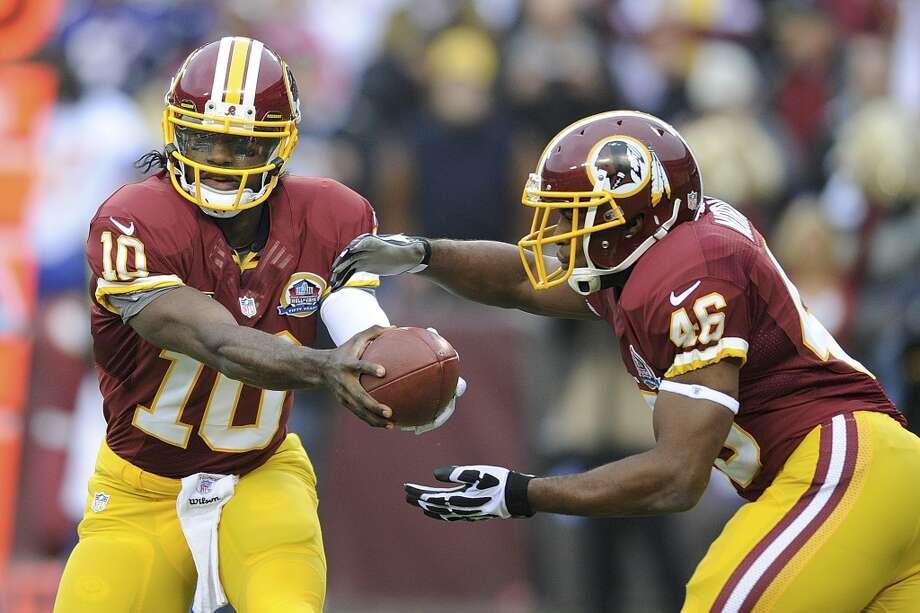 16. Redskins (0-1)Last week: 11  In the first half of the Eagles loss, RG3 showed why a quarterback needs to play in a preseason game. Photo: Nick Wass, Associated Press