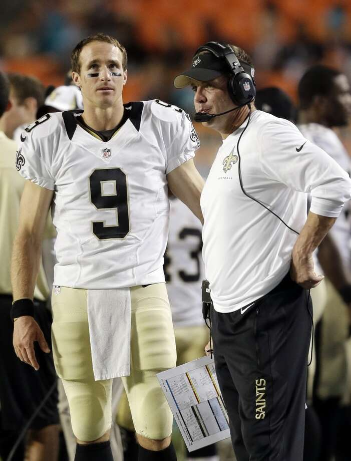8. Saints (1-0)Last week: 13  A tremendous return for Sean Payton against Atlanta, and the defense was the most impressive part of the game. Photo: Wilfredo Lee, Associated Press