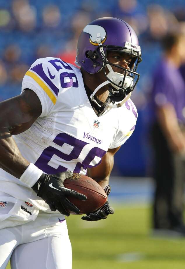 24. Vikings (0-1)Last week: 14  Something's horribly wrong when Adrian Peterson goes 78 yards on his first carry and fails to reach 100. Photo: Bill Wippert, Associated Press