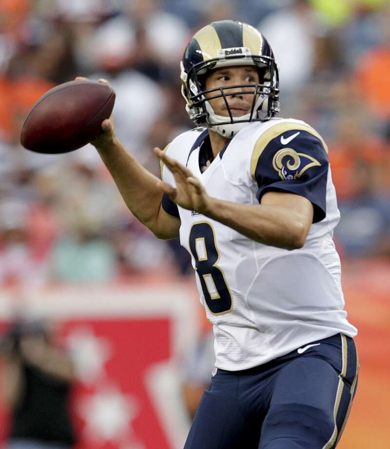 20. Rams (1-0)Last week: 16  After escaping with a win over Arizona, it's going to be tough for them  to start 2-0 because they play Atlanta. Photo: Joe Mahoney, Associated Press