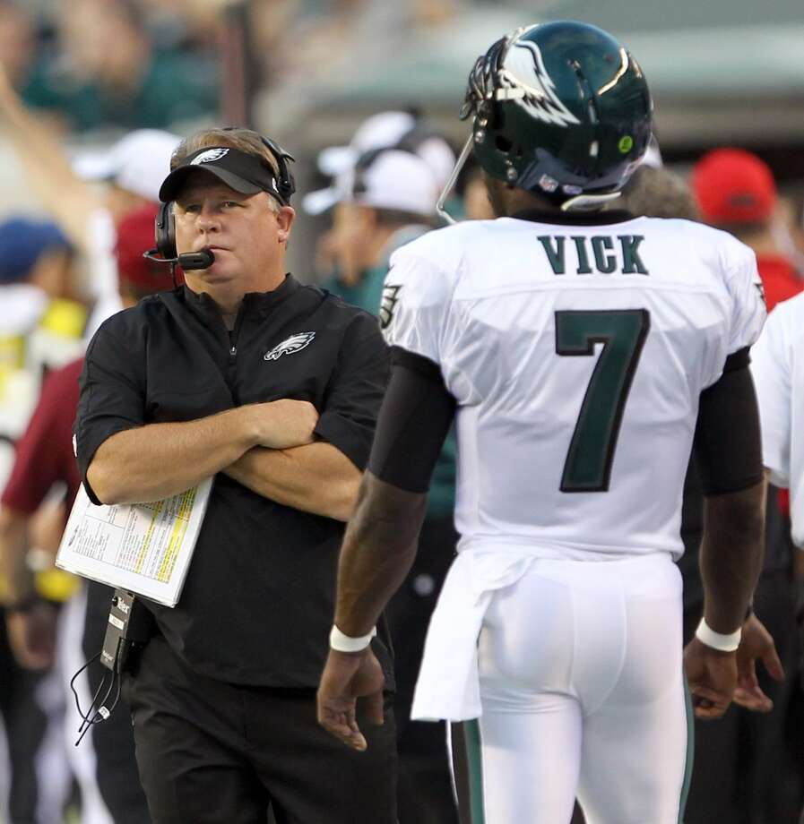 6. Eagles (1-0)Last week: 23  If new coach Chip Kelly keeps up this pace, the next thing you know a team will pursue Art Briles. Photo: Yong Kim, MCT