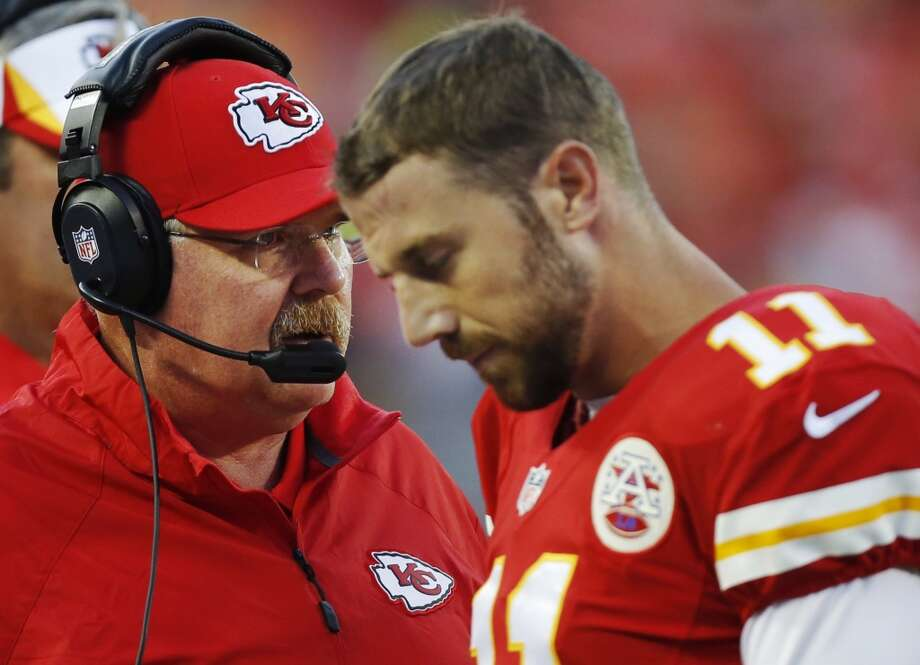 18. Chiefs (1-0)Last week: 24  What a splendid start for Andy Reid at Jacksonville. His defense allowed two points and 178 yards. Photo: Ed Zurga, Associated Press