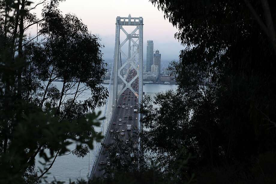 Lawmakers may vote to rename the Yerba Buena to San Francisco stretch of the Bay Bridge to honor Willie Brown, but that doesn't mean a new name will actually catch on with commuters. Photo: Lacy Atkins, The Chronicle