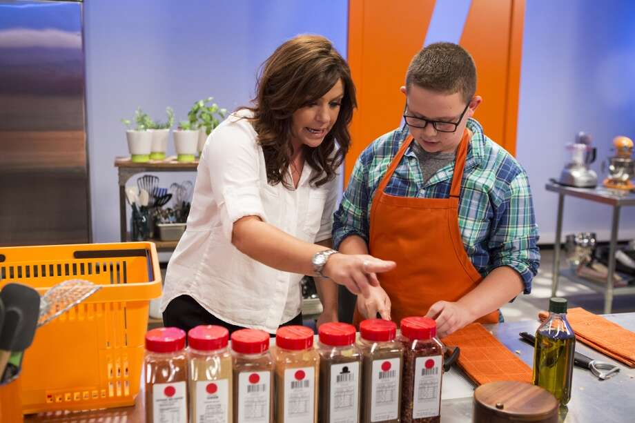 "Hunter Zampa, of Stamford, competes on ""Rachael vs. Guy: Kids Cook-Off,"" a new Food Network web series premiering Sunday, Sept. 8 at 8 p.m. Photo: Justin Lubin"
