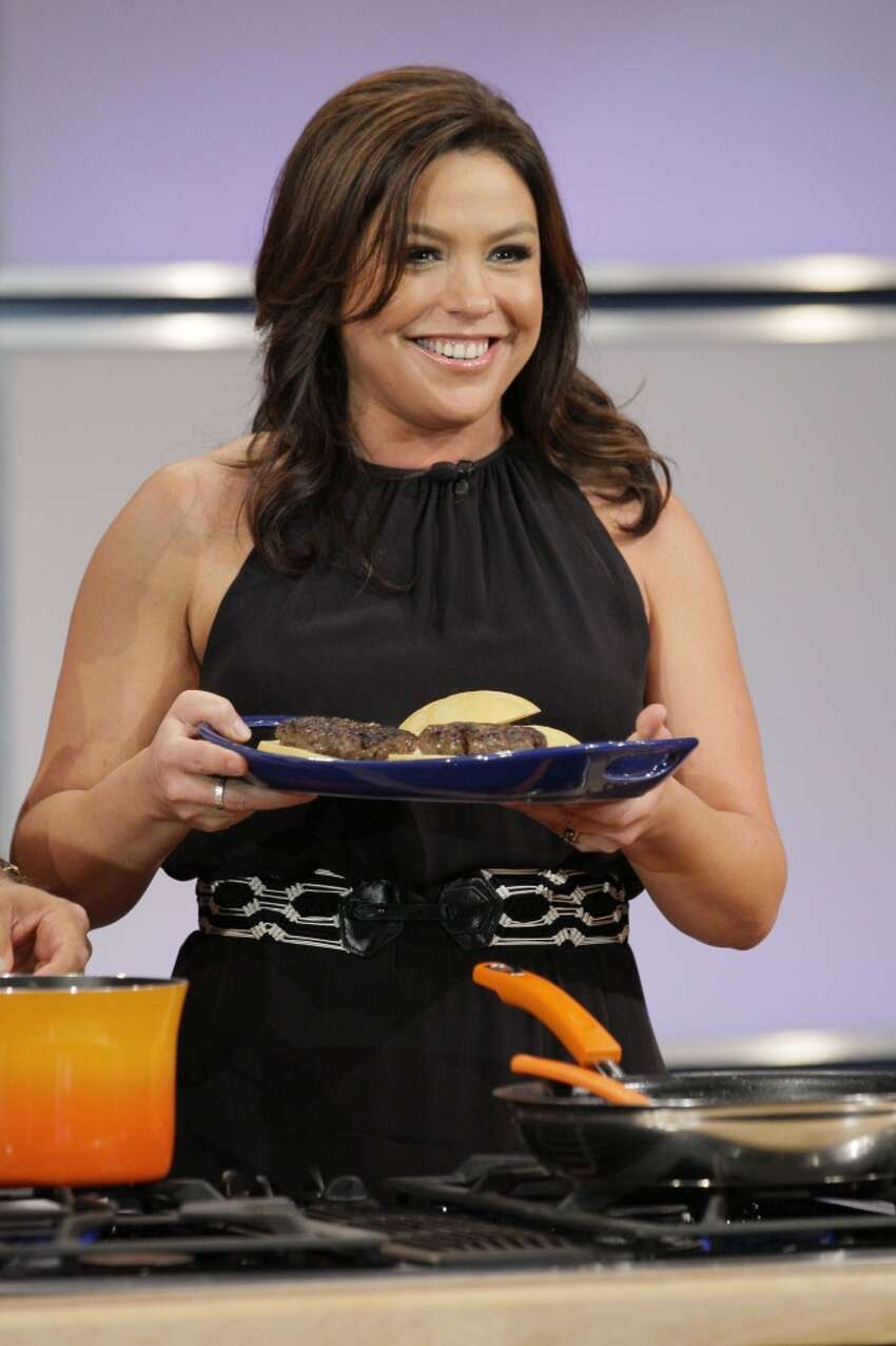 Rachel Ray got her start teaching people to make simple dinners using recipes that take less than 30 minutes to complete. She's now worth more than $60 million and she's never even been formally trained as a chef. She spent a lot of time visiting Oprah Winfrey, which launched her career as a talk show host. - worthly.com