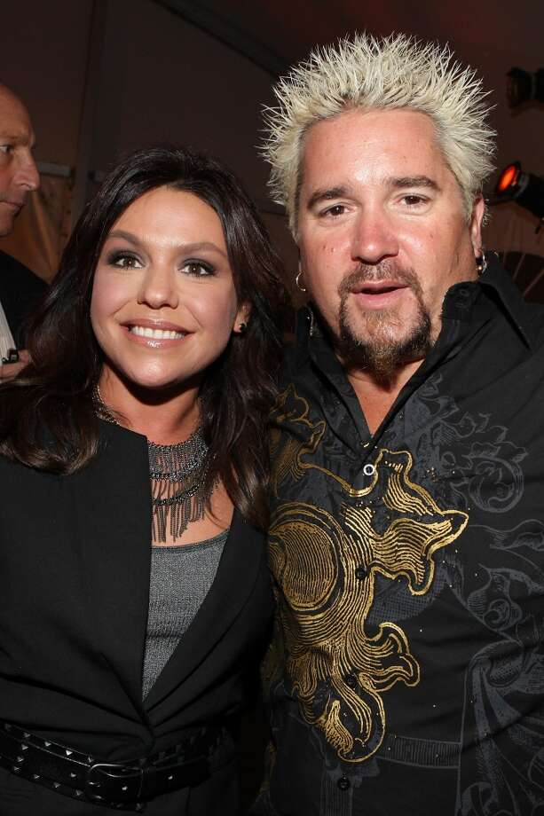NEW YORK - OCTOBER 09:  Chefs Rachael Ray and Guy Fieri attend the Burger Bash at the Tobacco Warehouse on October 9, 2009 in New York City.  (Photo by Roger Kisby/Getty Images) Photo: Getty Images