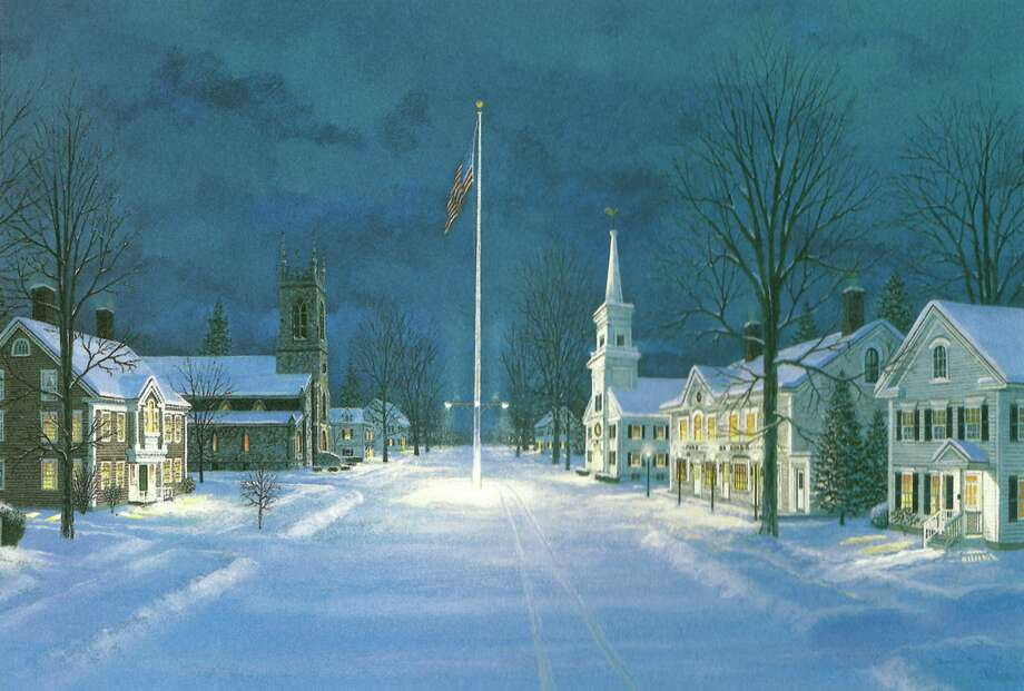 Kent Memorial Library will open ìPaintings of New Englandî with a reception Sept. 7 from 3 to 5 p.m. The show, which will run through Oct. 31, will feature works by Southbury artist David Merrill, who has received numerous awards for his artwork. His mural work can be seen in town halls, libraries, convalescent homes, schools and private residences; his art is featured on many wine bottles, including DiGrazia Winery of Brookfield; and original paintings are part of the collections at numerous institutions and are in private collections. For more information, or to RSVP to the reception, call the Main Street library at 860-927-3761 or email kmlinfo@biblio.org. Photo: Contributed Photo