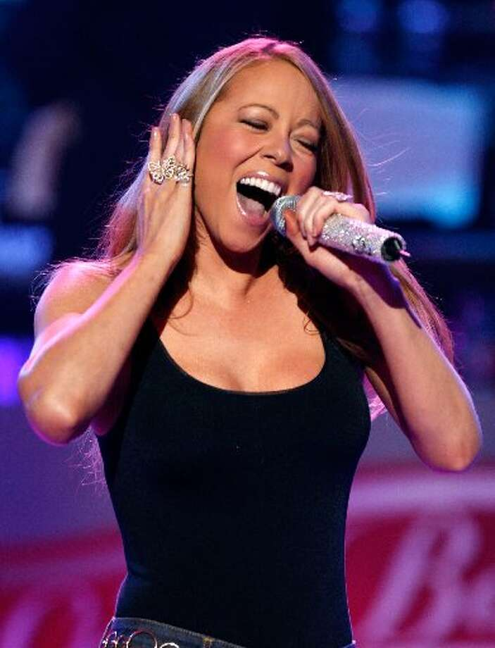 Mariah Carey, season 12. Photo: AP