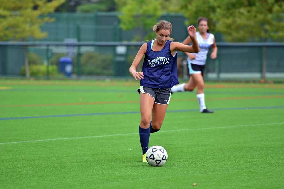 Junior Elettra Baldi (pictured) is expected to contribute for the Greens Farms Academy girls soccer team. Photo: Contributed Photo / Norwalk Citizen