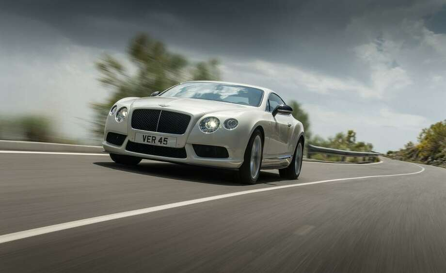The company unveiled its new Bentley Continental GT V8 S this week