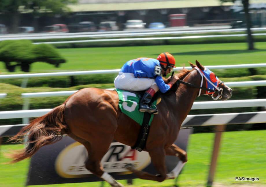 Johnny V on his way to yet another victory. (Ed Sindoni) Photo: Picasa