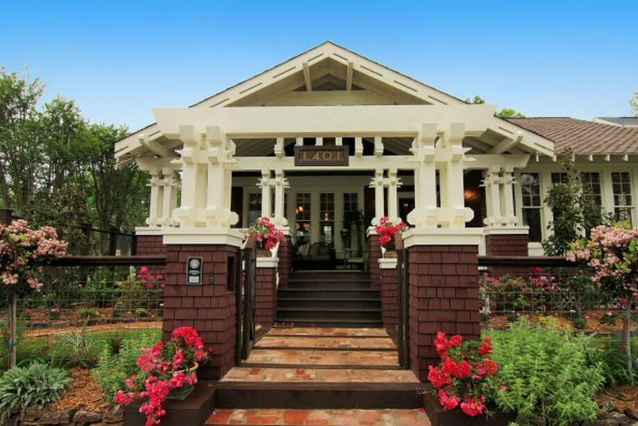 Gilbert Perez, owner of Bungalow Revival Houston, a business specializing in restoration and renovation of that style of home, himself owns a Heights bungalow. Photo: Herkimer Bungalow