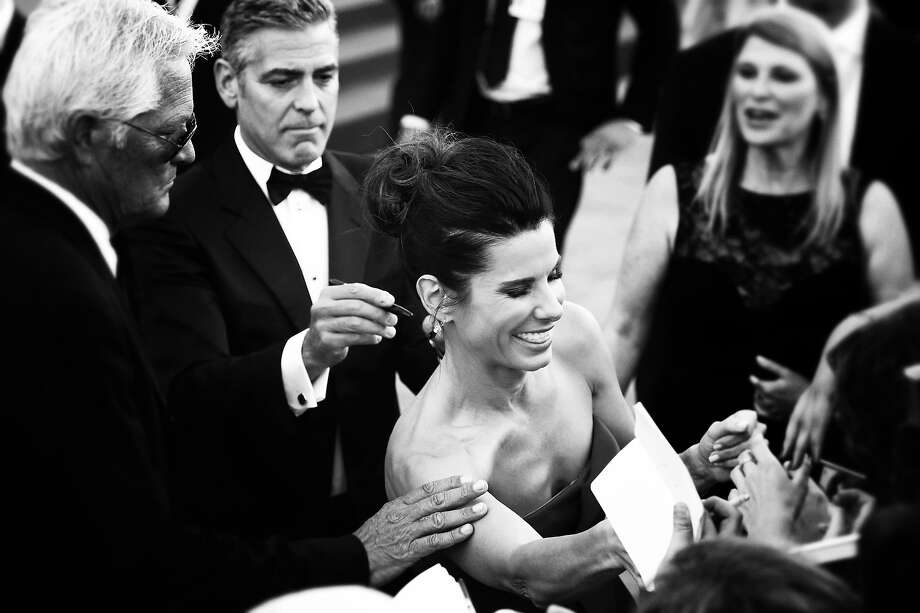 Actress Sandra Bullock as she attends the Opening Ceremony And 'Gravity' Premiere during the 70th Venice International Film Festival at the Palazzo del Cinema on August 28, 2013 in Venice, Italy. Photo: Andreas Rentz, Getty Images / 2013 Getty Images