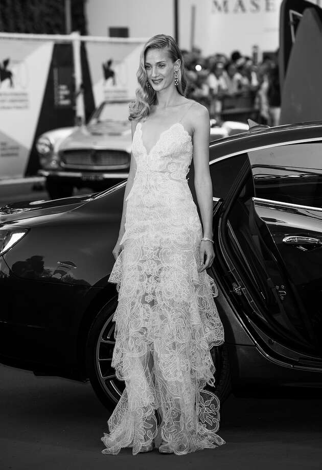Festival hostess Eva Riccobono as she attends the Opening Ceremony And 'Gravity' Premiere during the 70th Venice International Film Festival at the Palazzo del Cinema on August 28, 2013 in Venice, Italy. Photo: Ian Gavan, Getty Images / 2013 Getty Images