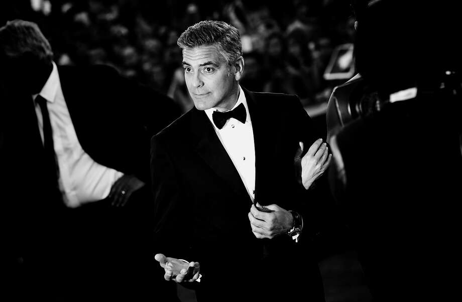 Actor George Clooney as he attends the 'Gravity' premiere and Opening Ceremony at the 70th Venice International Film Festival on August 28, 2013 in Venice, Italy. Photo: Vittorio Zunino Celotto, Getty Images / 2013 Getty Images