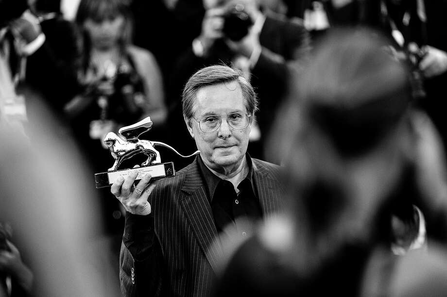 Director William Friedkin poses with his 'Leono d'Oro alla Carriera' prize at the Lifetime Achievement Award ceremony during the 70th Venice International Film Festival on August 29, 2013 in Venice, Italy. Photo: Gareth Cattermole, Getty Images / 2013 Getty Images