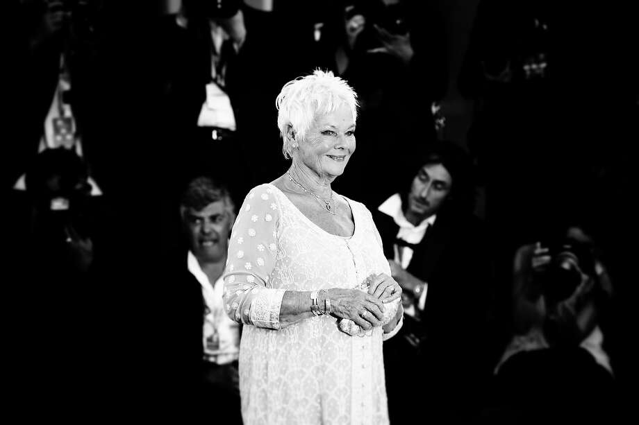 Dame Judi Dench as she attends the 'Philomena' Premiere at the 70th Venice International Film Festival on August 31, 2013 in Venice, Italy. Photo: Vittorio Zunino Celotto, Getty Images / Getty Images Europe
