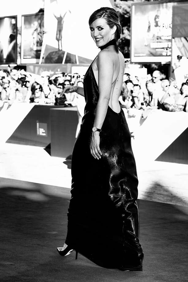 Evelyne Brochu as she attends the 'Tom At The Farm' Premiere during  the 70th Venice International Film Festival on September 2, 2013 in Venice, Italy. Photo: Andreas Rentz, Getty Images / 2013 Getty Images