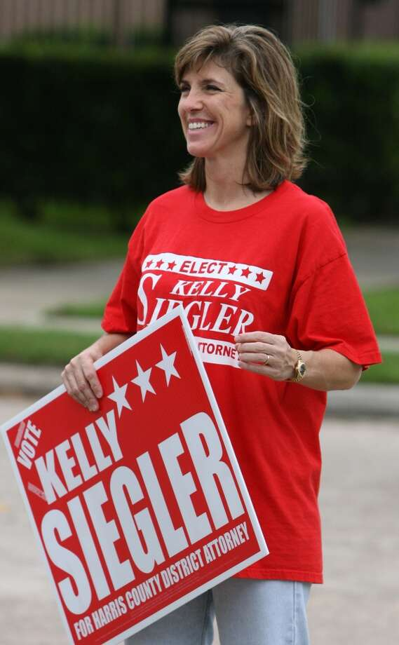 Siegler ran for Harris County district attorney in 2008. Photo: Billy Smith II, Houston Chronicle