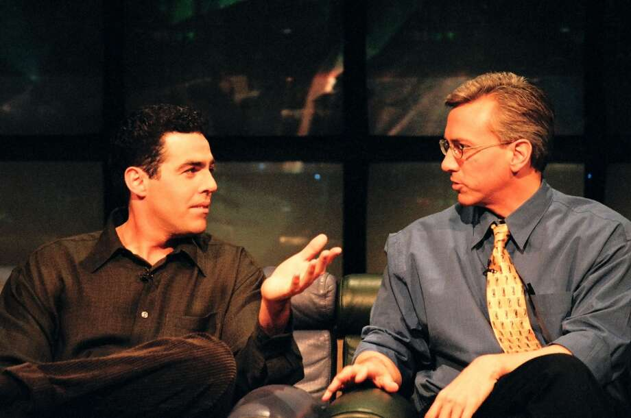 Before `Celebrity Rehab with Dr. Drew' and `Sober House,' Dr. Drew Pinsky doled out advice on MTV's `Loveline.' Photo: Jeff Kravitz, FilmMagic