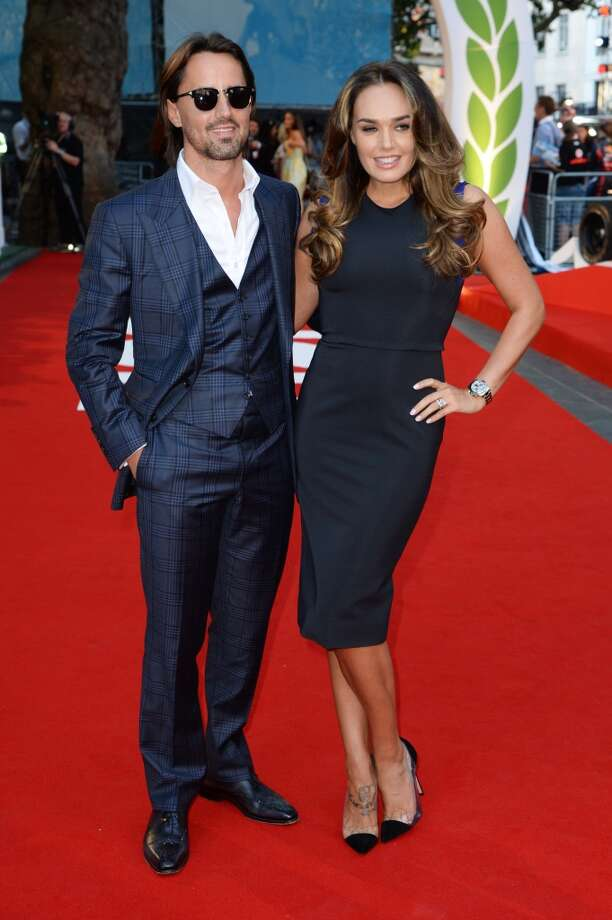 "Tamara Ecclestone and Jay Rutland attend the ""Rush"" world premiere at The Odeon Leicester Square on September 2, 2013 in London, England.  (Photo by Dave J Hogan/Getty Images) Photo: Dave J Hogan, Getty Images"