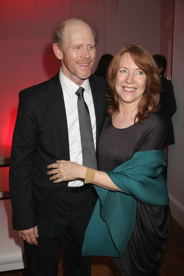 Director Ron Howard and wife Cheryl Howard attend the Rush world premiere after party at One Marylebone on September 2, 2013 in London, England.  (Photo by Chris Jackson/Getty Images for Ferragamo) Photo: Chris Jackson