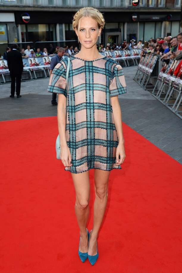 "Poppy Delevingne attends the ""Rush"" world premiere at The Odeon Leicester Square on September 2, 2013 in London, England. (Photo by Dave J Hogan/Getty Images) Photo: Dave J Hogan, Getty Images"