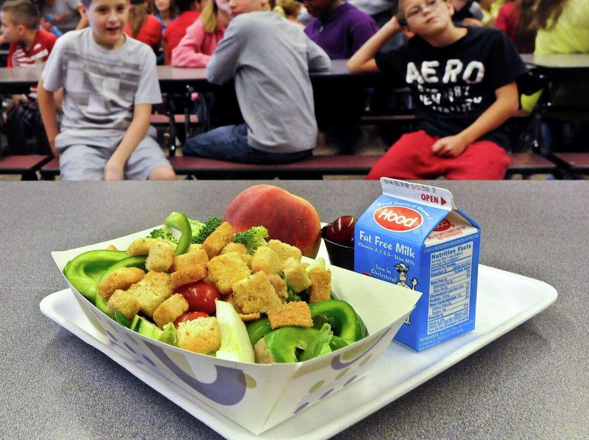 School lunch: $1.00