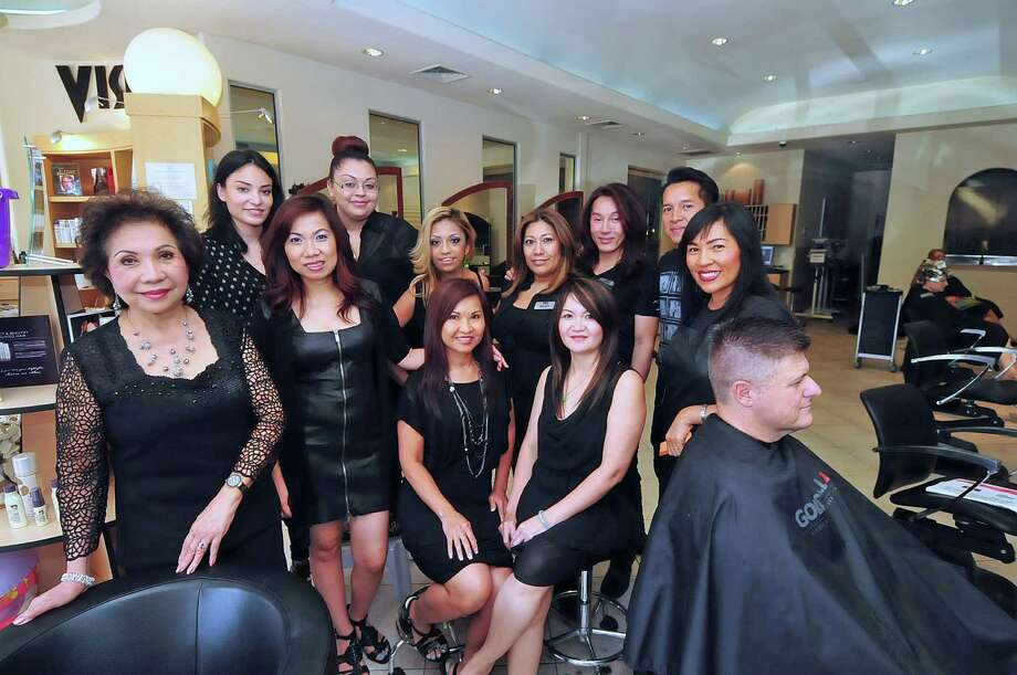 Rescued from saigon local family achieves dream houston for 16 image the family salon