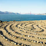 Lost in the labyrinth, San Francisco You can find serenity walking the elegant labyrinth off San Francisco's Land's End Trail.