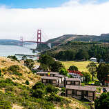 Fort bliss, Sausalito On a highway lined with stunning views, Cavallo Point has some of the best: Golden Gate Bridge, San Francisco Bay, the San Francisco skyline. But that's not all this Marin luxury lodge offers. There's also the graceful discipline of its architecture, dating from service as the U.S. Army's Fort Baker. Overnight guests bunk in the historic officers' quarters or in new units with less character but even wider vistas. Neither option's cheap, but you don't have to stay at Cavallo to enjoy it. The resort's spa with its array of massages is unusually relaxing. Or stop for a cocktail and bar food—we like the grass-fed cheeseburger—at Cavallo's convivial Farley Bar. Rooms from $309, Farley Bar $$; cavallopoint.com