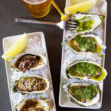 Heaven on the half-shell, Inverness Our tip to people heading to or from Point Reyes National Seashore—pull over when you see Saltwater Oyster Depot's spiffy shack. At least, if you're interested in sparkling fresh mollusks from the bay across the street. There's also a half-dozen interesting California wines on tap. $$$; 12781 Sir Francis Drake Blvd.; saltwateroysterdepot.com