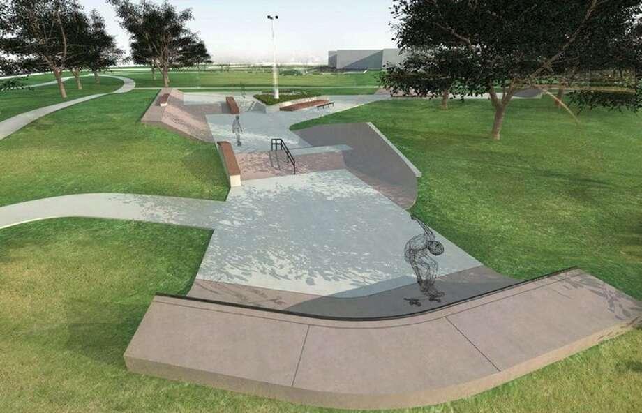 The Texas City Skate Park design will consist of 10 features.The Texas City Skate Park design will consist of 10 features.The Texas City Skate Park design will consist of 10 features.