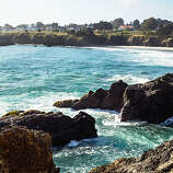 Bygone era charms, Mendocino Mendocino Village hugs a beautiful coastal blufftop. Most of the town's charming wooden buildings date from the 1800s. Read more: Top 10 California coast hotels